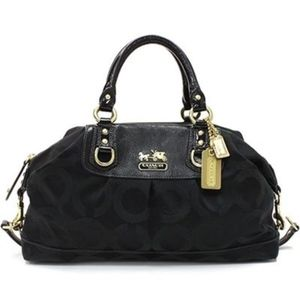 Authentic COACH Madison Op Art Sabrina Satchel